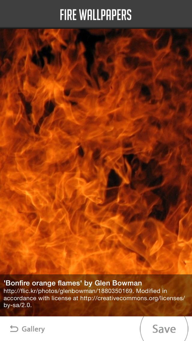 Fire Wallpaper screenshot 5