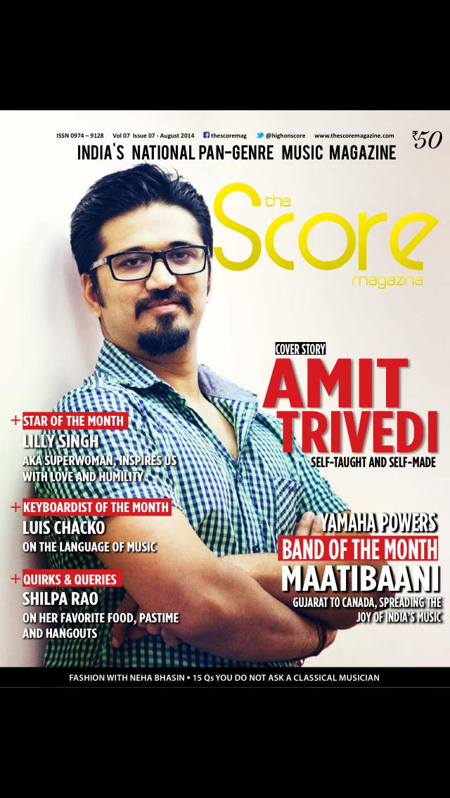 The Score Magazine screenshot 1