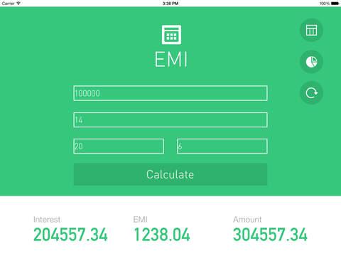 EMI Calculator. - náhled