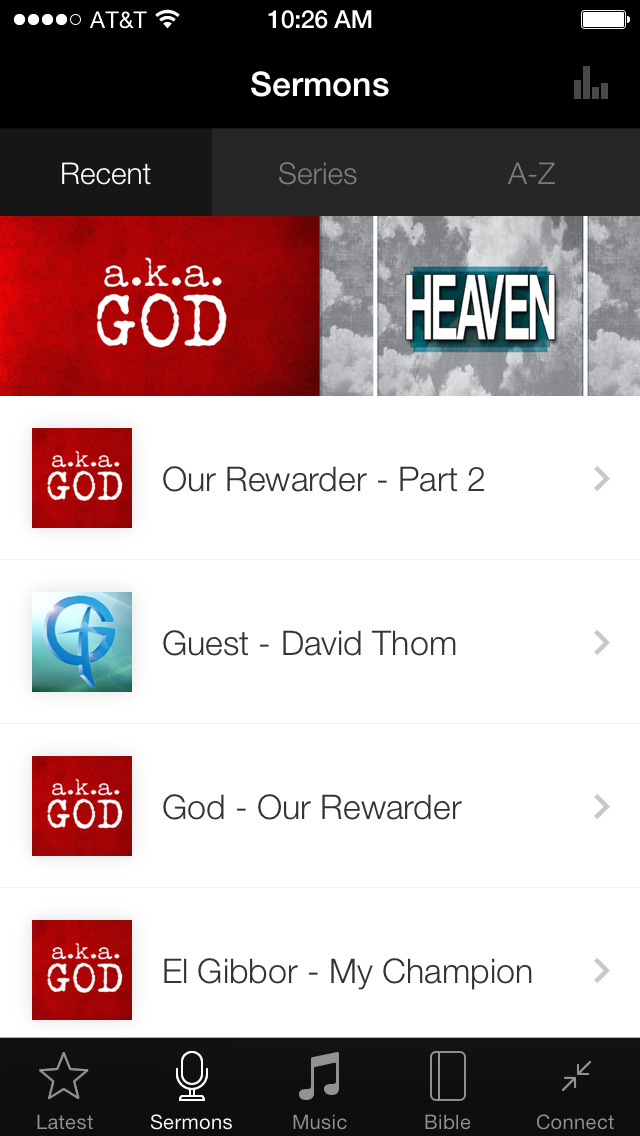 Grace Community Church App App screenshot 1