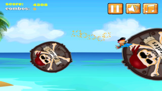 A1 Pirate Jumping Diamond Chase screenshot 4