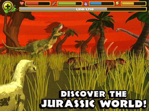 Jurassic Life: Velociraptor Dinosaur Simulator screenshot 10