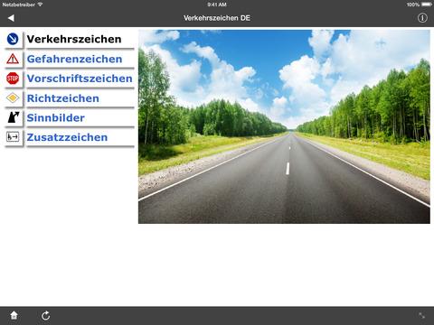 Verkehrszeichen DE screenshot 6