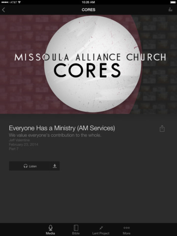 Missoula Alliance Church screenshot 6