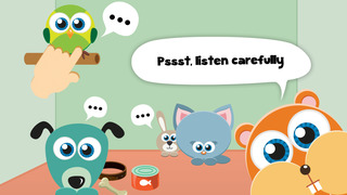 Play with Cute Baby Pets Pets Game for a whippersnapper and preschoolers screenshot 3