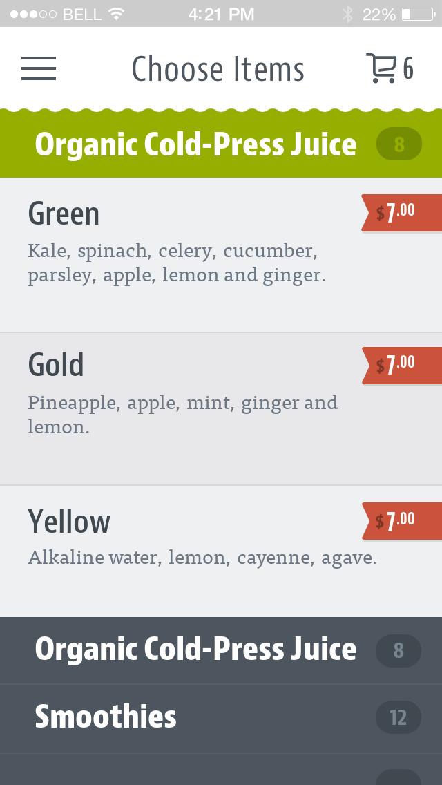 Blend Juice Bar screenshot 4
