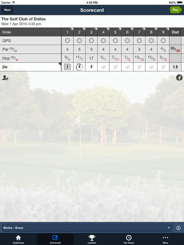 The Golf Club of Dallas screenshot 7