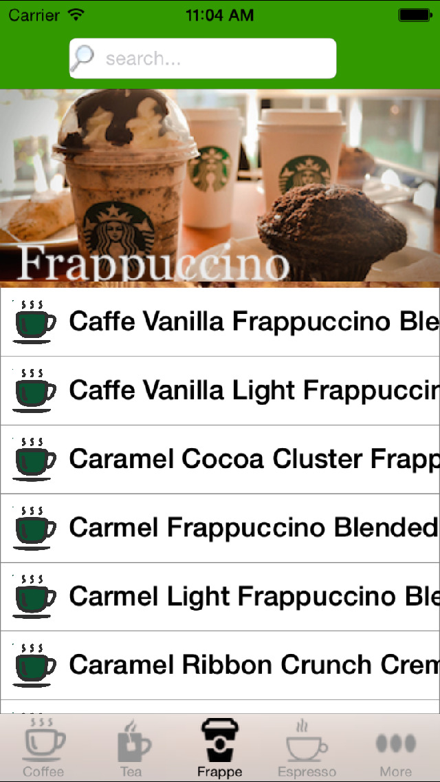 Nutrition Pro for Starbucks screenshot 4