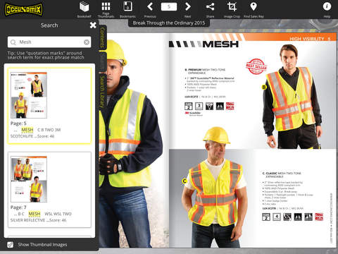 OccuNomix Safety Gear and Apparel Catalogs screenshot 6