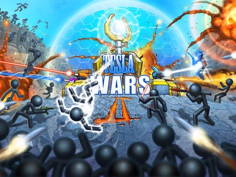Tesla Wars - II screenshot 6