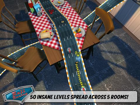 Rail Racing Free screenshot #2