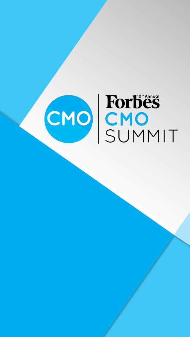 Forbes CMO Summit screenshot 1