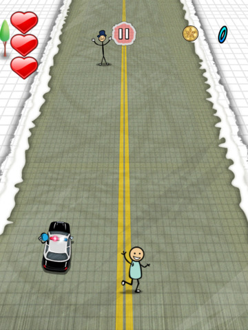 `Stickman Police Car Crime Chase Race: The Doodle Chase Racing Free by Top Crazy Games screenshot 8