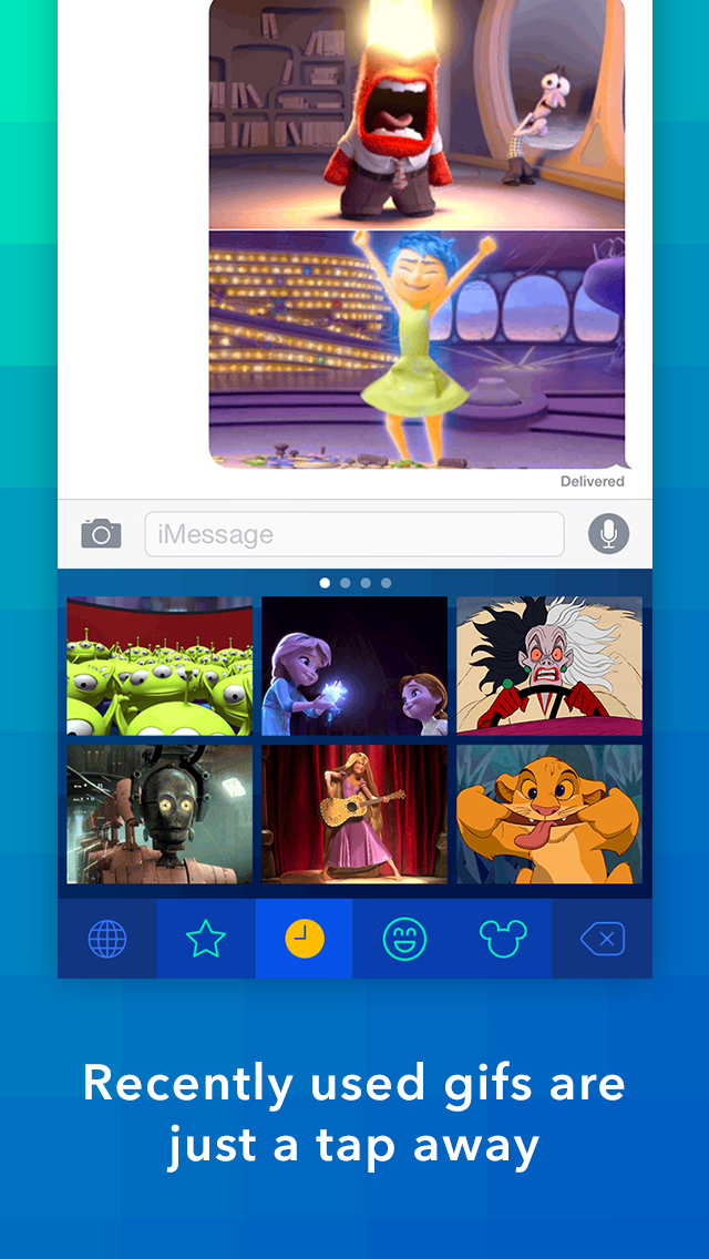 Disney Gif + Keyboard screenshot 3