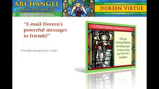Archangel Messages 2015 Calendar - Doreen Virtue screenshot 3