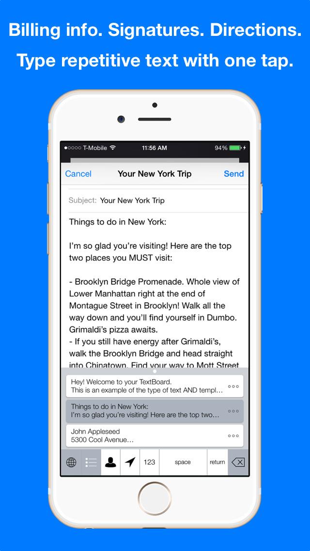 KuaiBoard – Type text. Quicker. screenshot 1