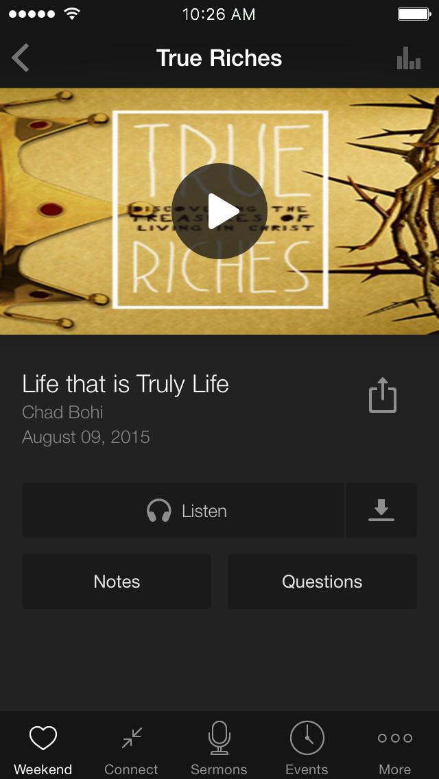 New Life Pismo screenshot 2