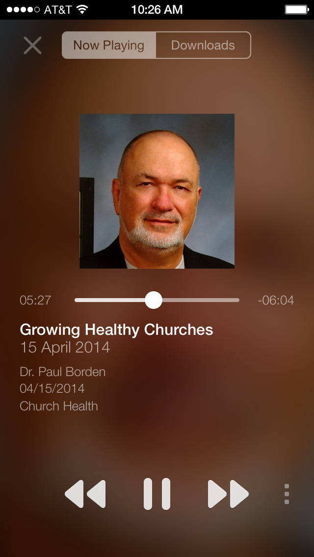 Healthy Church App screenshot 2