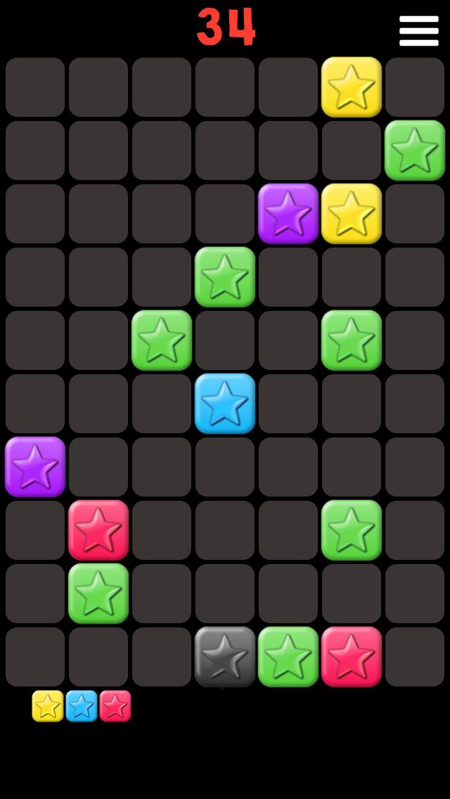 Popping Stars Mania screenshot 1