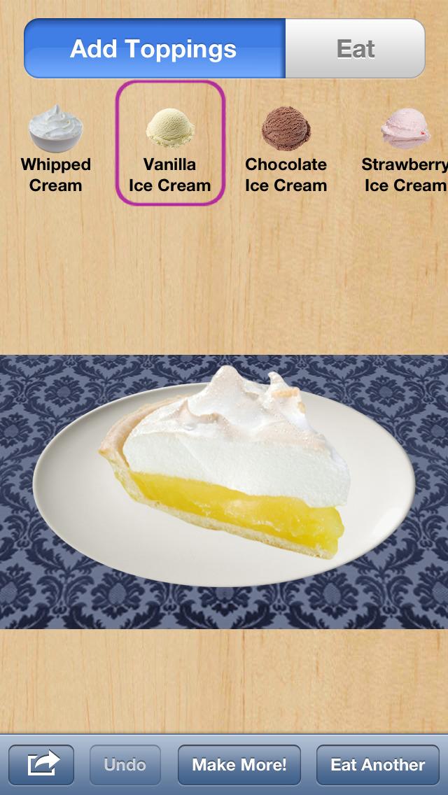 More Pie screenshot 1