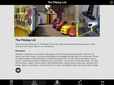 The Pitstop Ltd - náhled