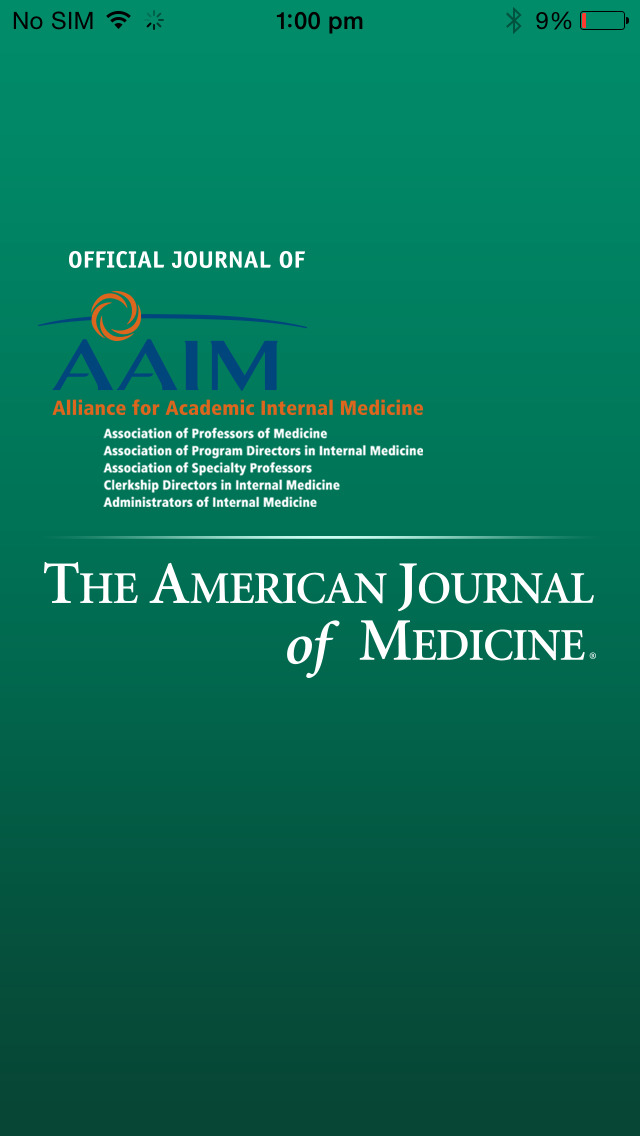 American Journal of Medicine screenshot 1