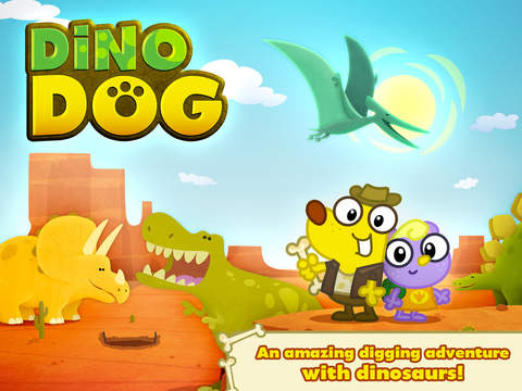Dino Dog ~ A Digging Adventure with Dinosaurs! screenshot 6