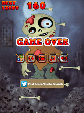 Jump Jump Zombie screenshot 10