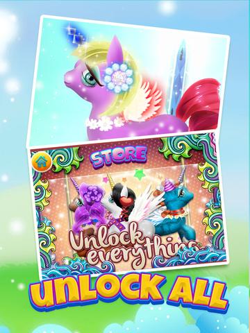 A Cute Pony Dress-Up Salon & Unicorn Fairy Makeover Spa screenshot 9