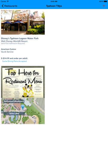 Disney World Restaurant Guide screenshot 9
