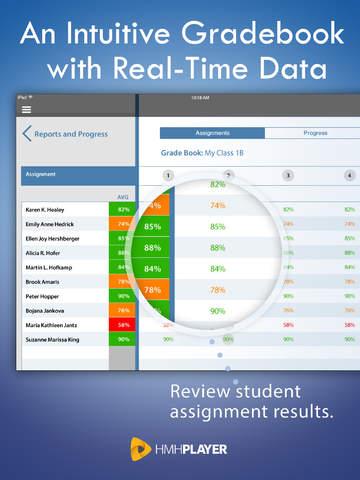 HMH Player screenshot 3