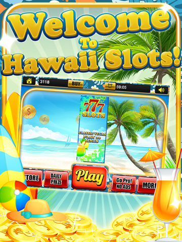 Ace Vacation Slots Casino - Big Island Extreme Jackpot Slot Machine Games HD screenshot 5