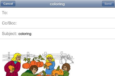 Halloween. Coloring book for children. - náhled