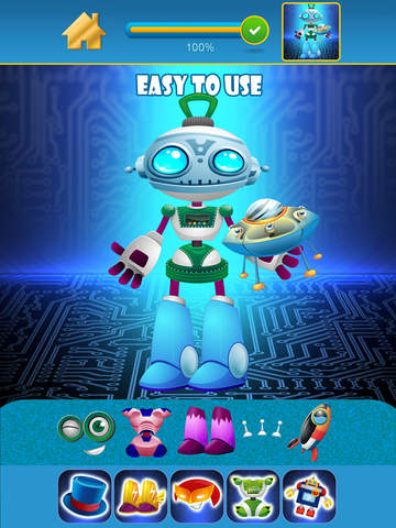 My Little World of Real Robots Copy And Create Free Game App screenshot 9
