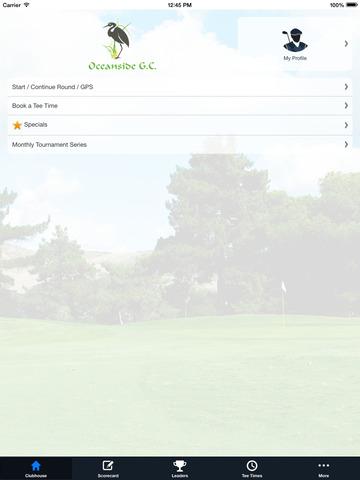 Oceanside Golf Course screenshot 7