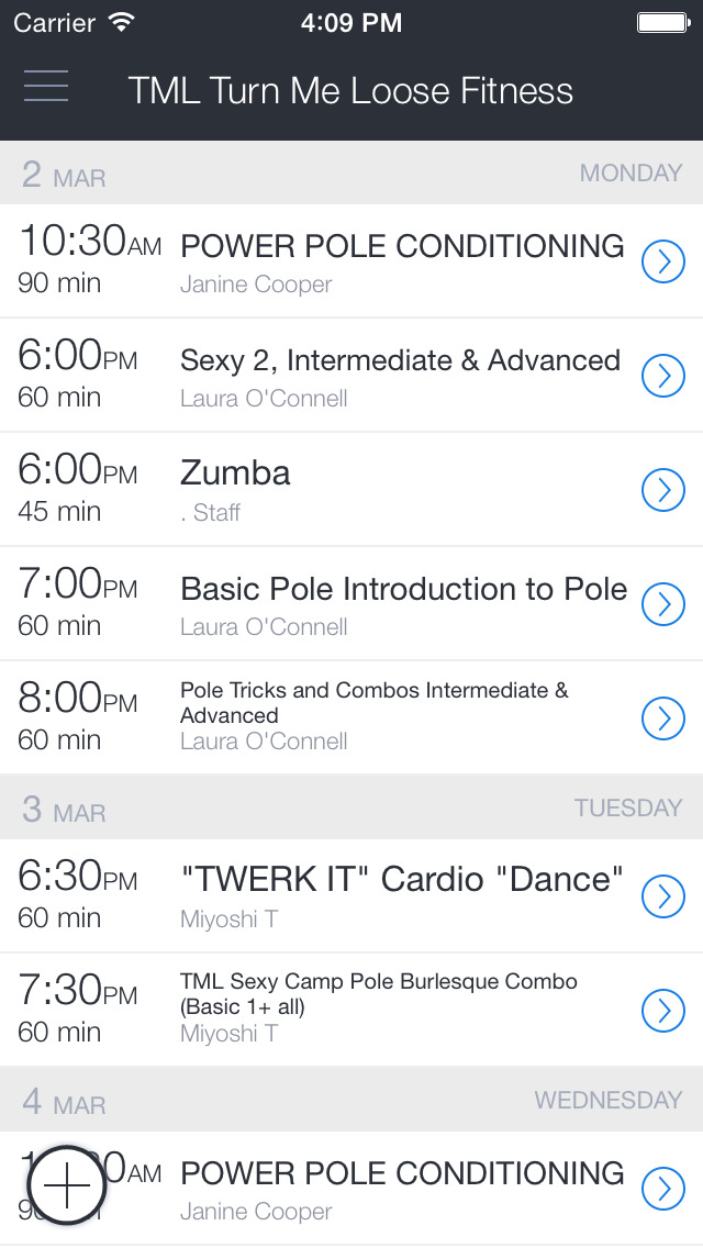 Turn Me Loose Fitness screenshot 1