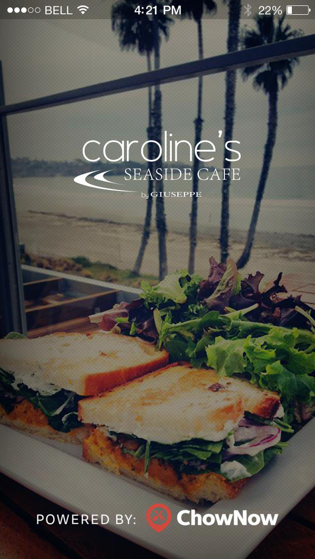 Caroline's Seaside Cafe screenshot 1