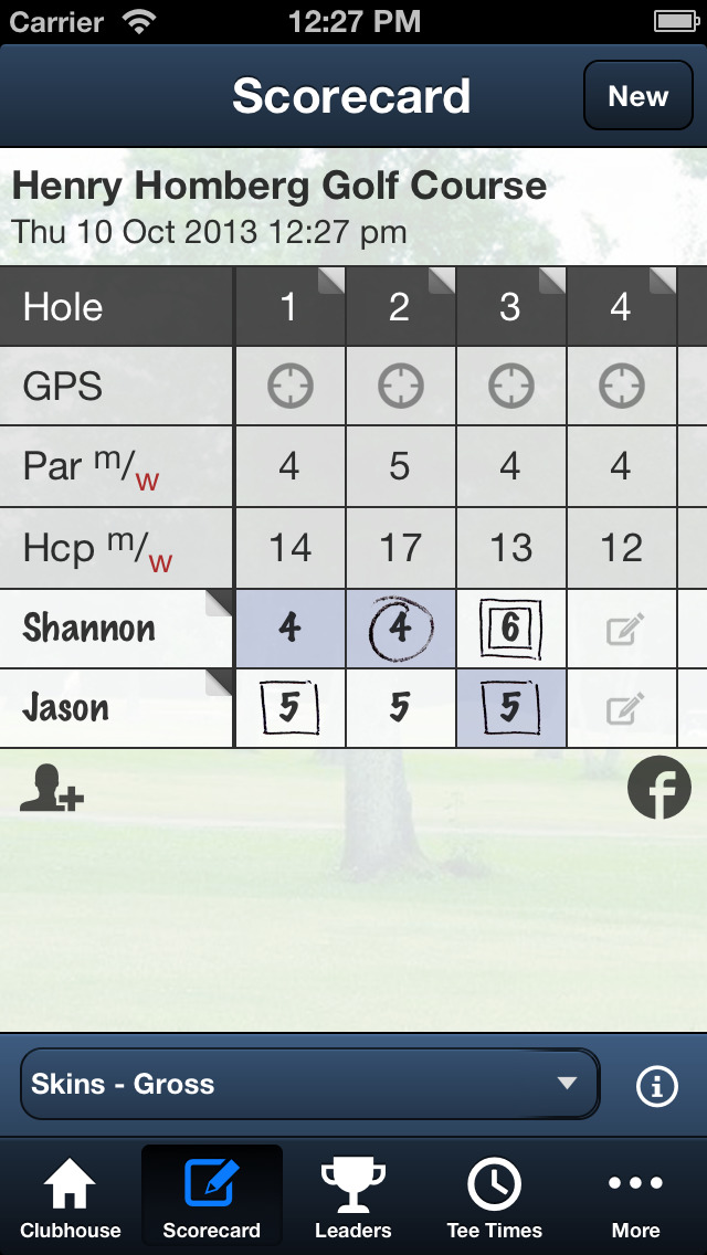 Henry Homberg Golf Course screenshot 4