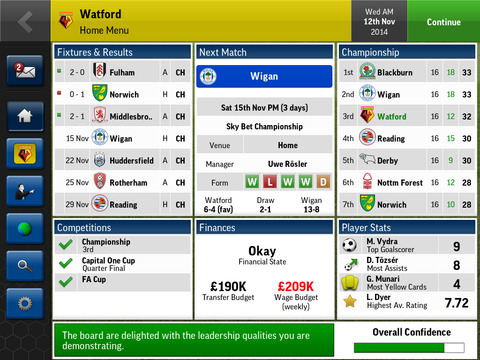 Football Manager Handheld 2015 screenshot 8