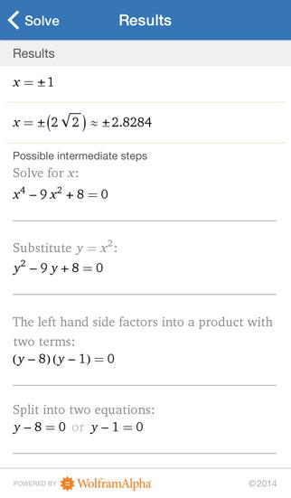 Wolfram Algebra Course Assistant screenshot 5