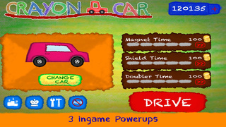 Crayon Car screenshot 4