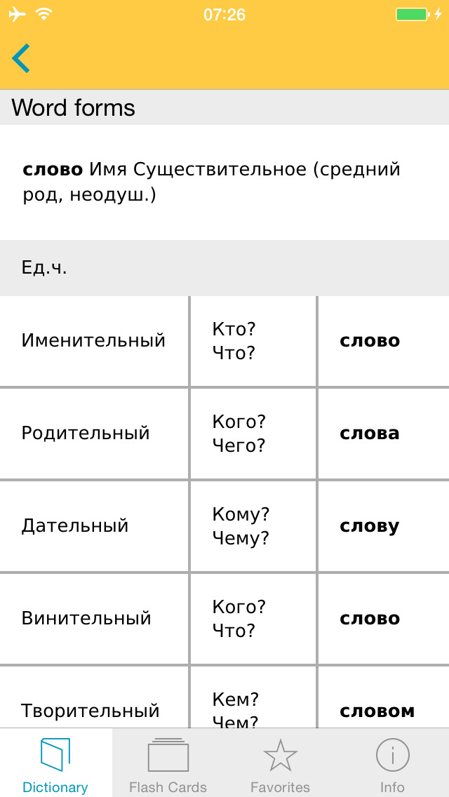 Big German Russian Dictionary screenshot 5
