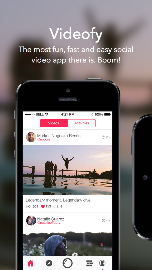 Videofy - Shoot HD video, edit, choose filter, slow motion and free music screenshot 1