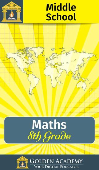 Middle School - Maths : 8th Grade screenshot 1