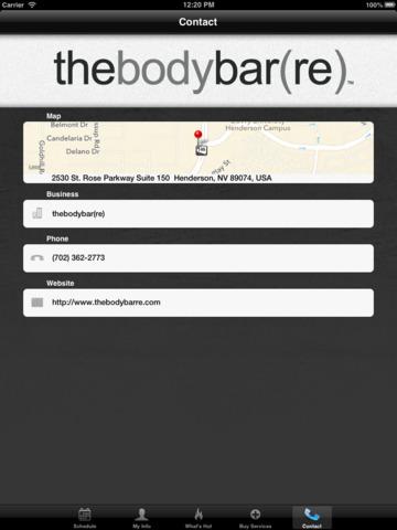 thebodybar(re) Las Vegas screenshot #5