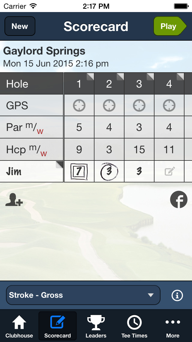 Gaylord Springs Golf Links screenshot 3