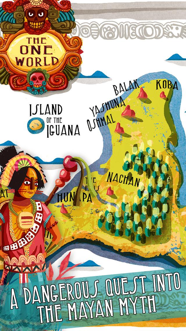 Necklace of Skulls - The Mayan adventure gamebook screenshot 1