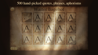 Next Quote - What's the Quote? Break the code & solve cryptogram to acquire the wisdom! screenshot 5