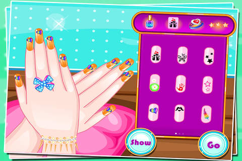Celebrity Nail Game - náhled