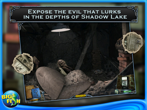 Mystery Case Files: Shadow Lake HD - A Hidden Object Detective Game (Full) screenshot 3